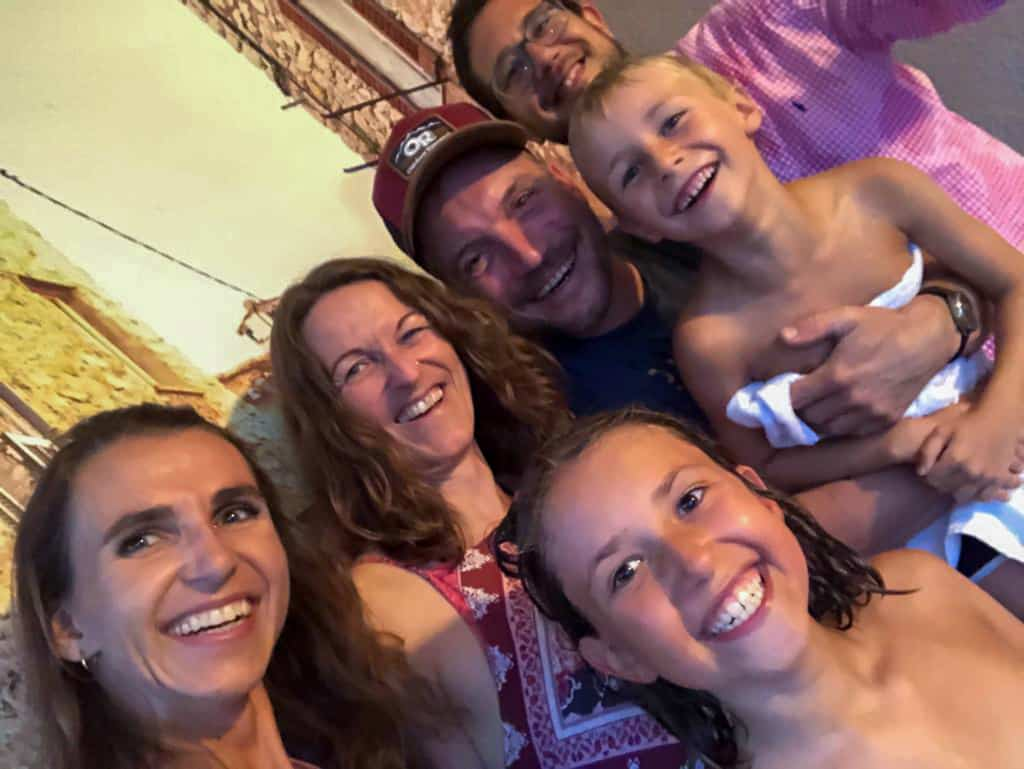 Familie Tedesco mit uns