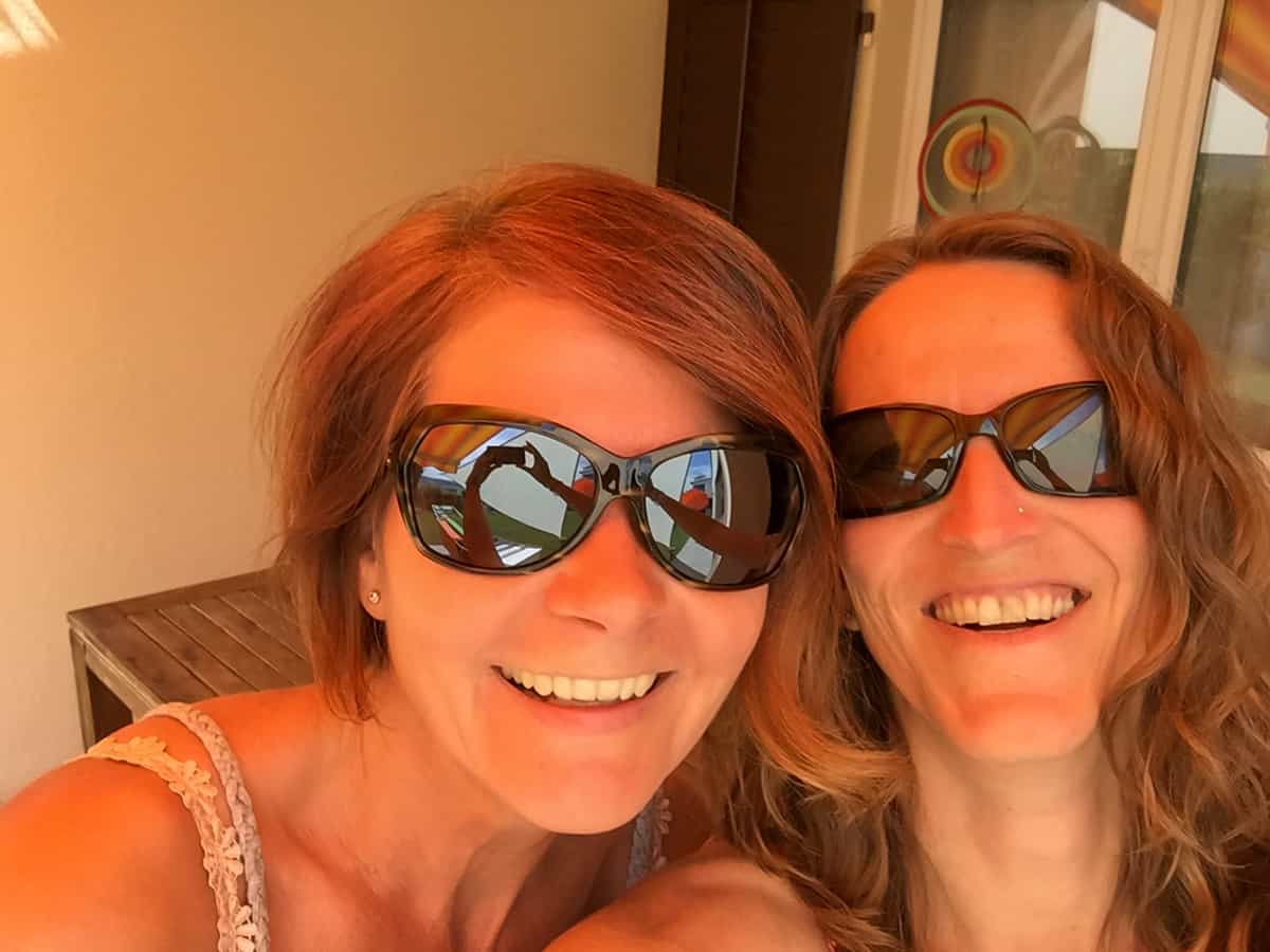 Andrea und ich