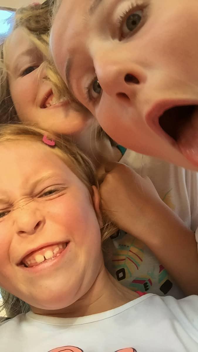 Ellie, Jamie und Leonie