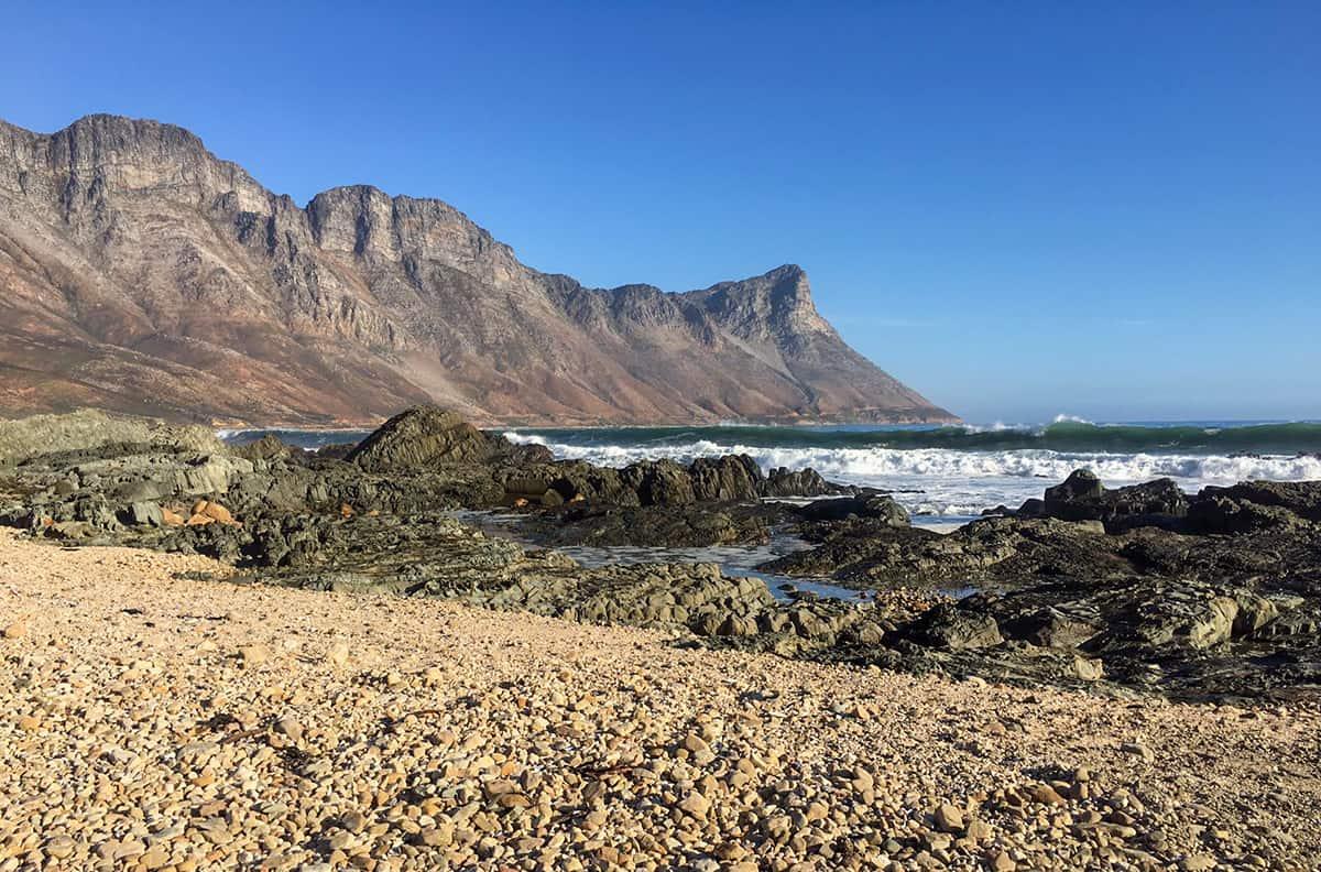 Küste bei Gordons Bay, Südafrika