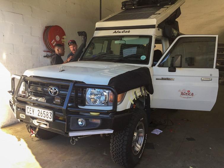 Umbau Toyota Landcruiser