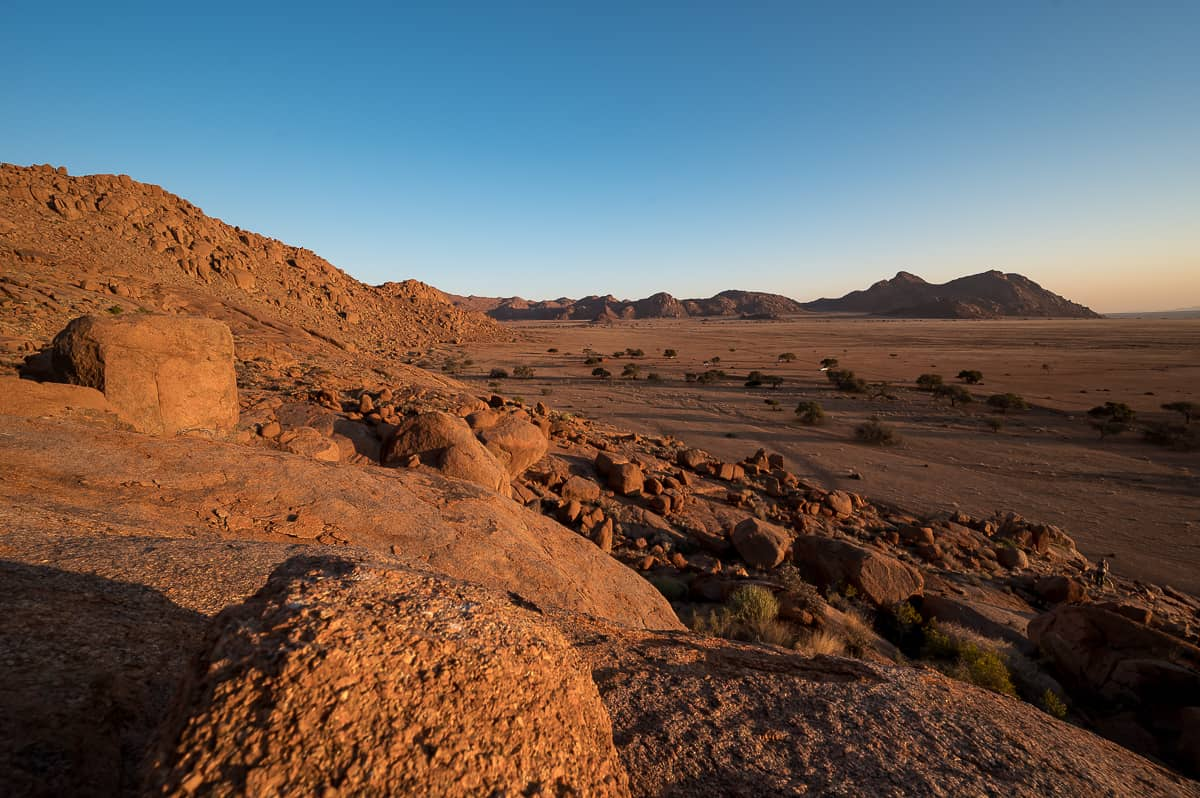 Tirasberge in Namibia
