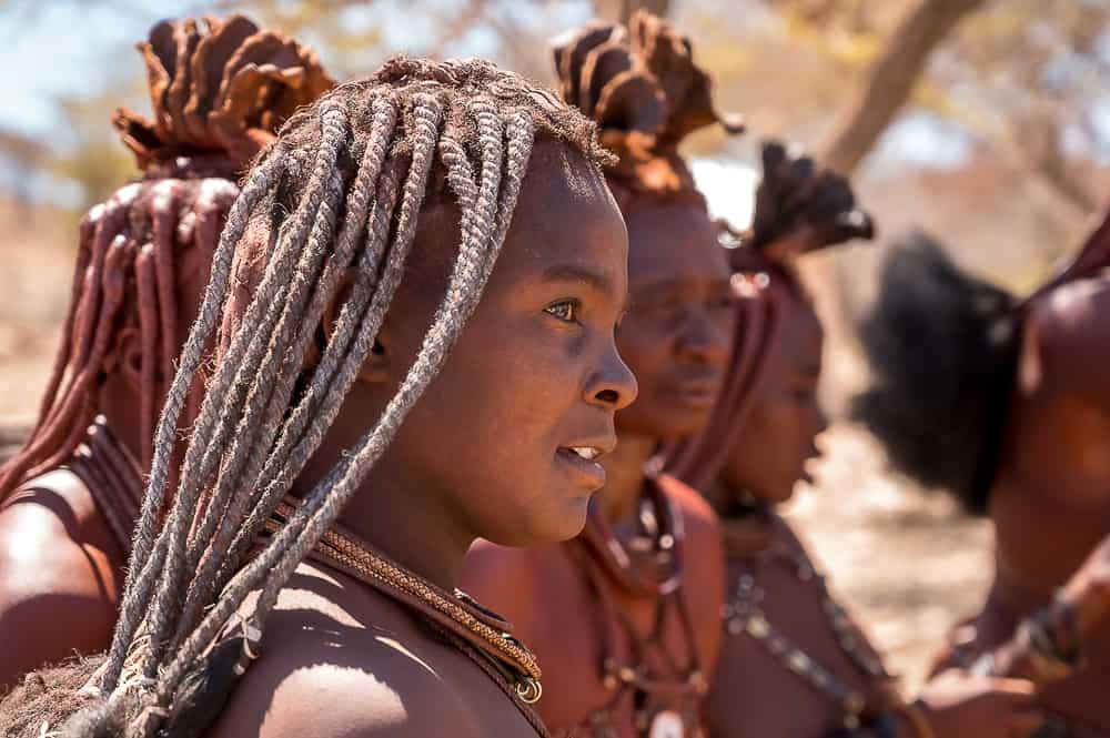 Besuch bei den Himbas