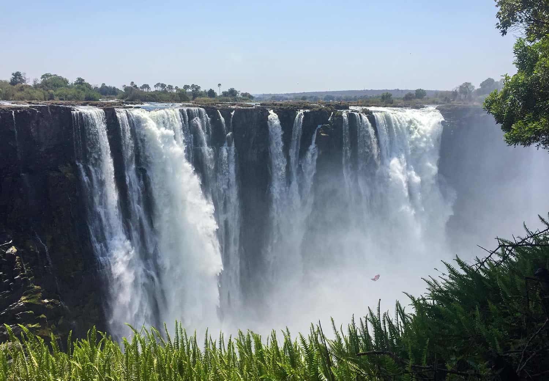 Vic Falls in Zimbabwe