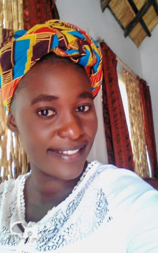 Junge Frau aus Zambia