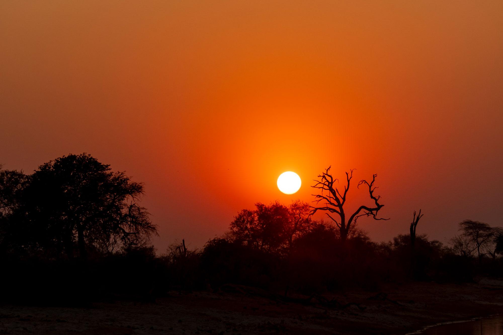 Afrikanische Sonne in Namibia