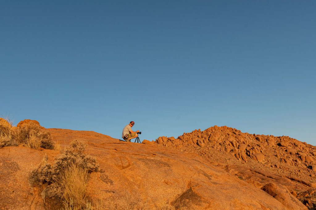 Reto in Namibia